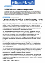 executive order overtime pay rules